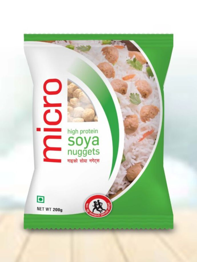 Micro soya nuggets